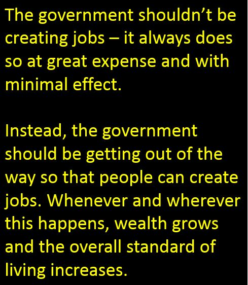 Wisdom Government economic jobs