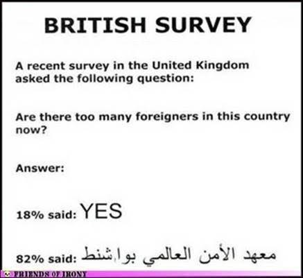 Islam too many in Britain