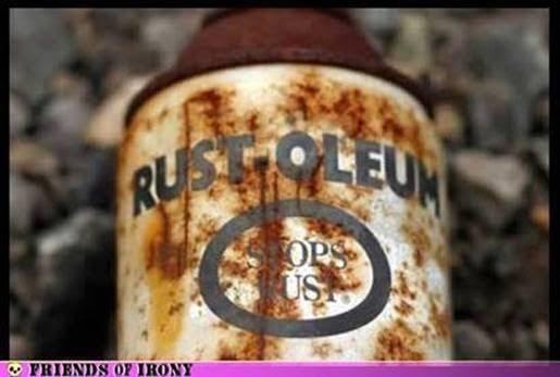Silly stuff rusty rustoleum