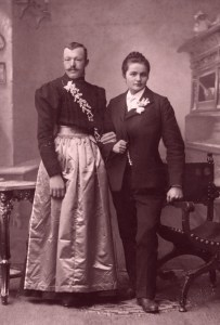 Victorian cross dressers