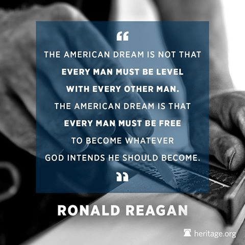 Wisdom Reagan on American dream of opportunity