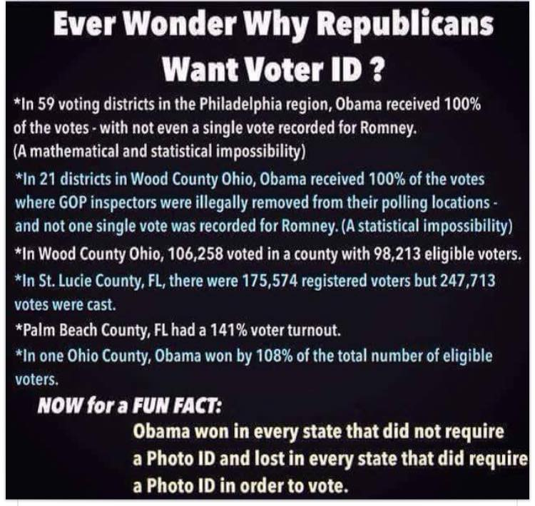 Elections voter ID