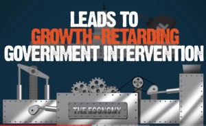 Growth retarding government intervention