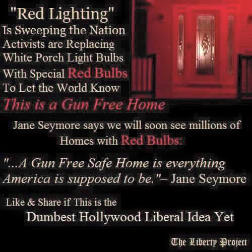 Guns red light homes