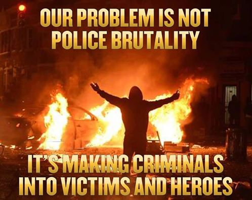 Police criminals victims and heroes