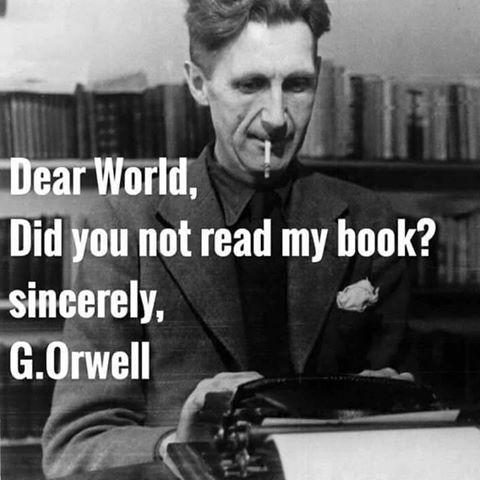 Wisdom George Orwell's book
