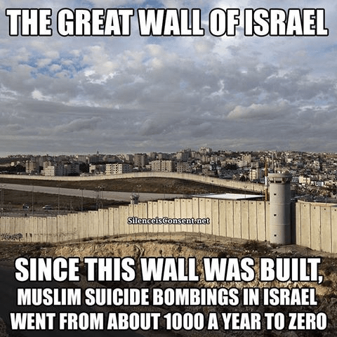 Immigration Walls work
