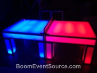 LED Light Up Ping Pong Table