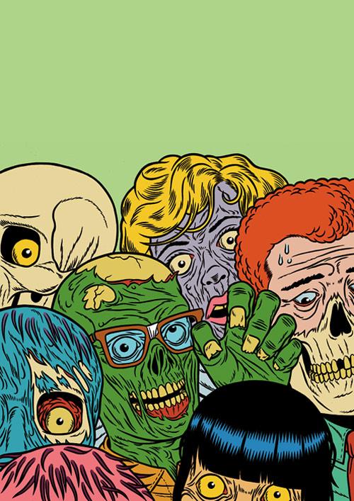 Pop Art Comic Girl Wallpaper Kristian Hammerstad Booooooom Create Inspire