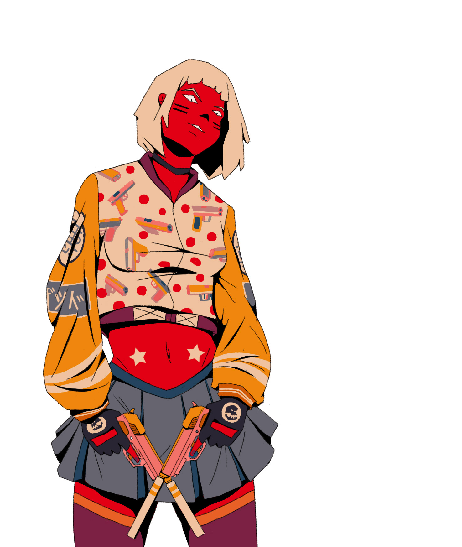 Gangster Wallpaper Girl Illustrator Spotlight Mau Lencinas Booooooom Create