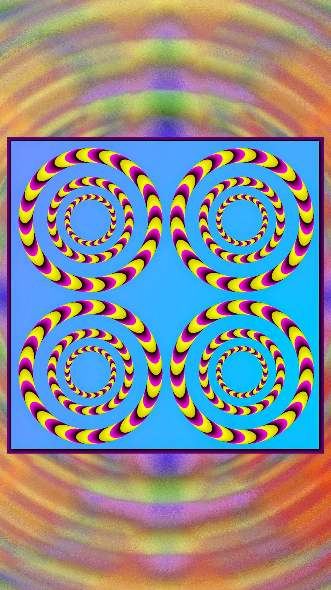Create Animated Wallpaper Trippy Optical Illusions That Appear To Be Animated Use