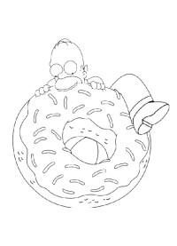 Disegni da Colorare di Simpsons