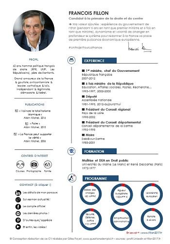 resumer son cv exemple