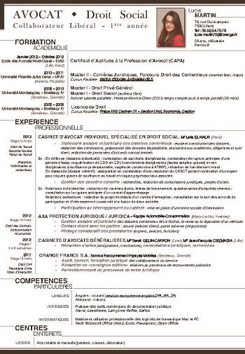 identifier les competences juriste contentieux cv