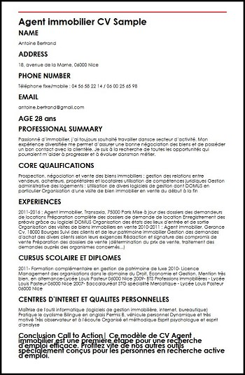 cv pour reconversion en informatique