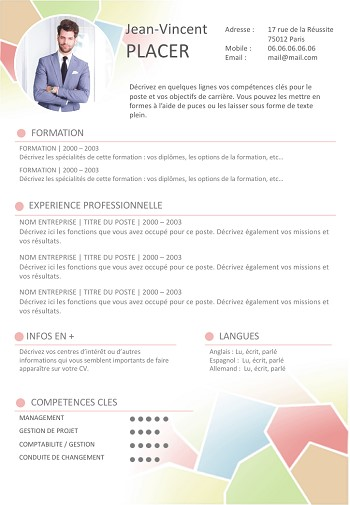 cv vendeuse word docx