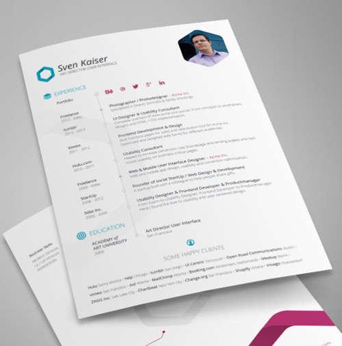 19 Free Professional Resume Templates 2014