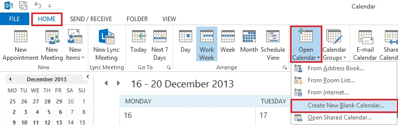 How To Create a Shared Calendar in Outlook  Office 365