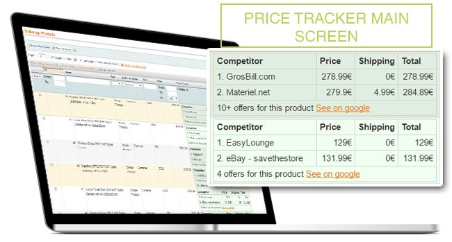 Price Tracker Extension for Magento - For Efficient repricing Strategy
