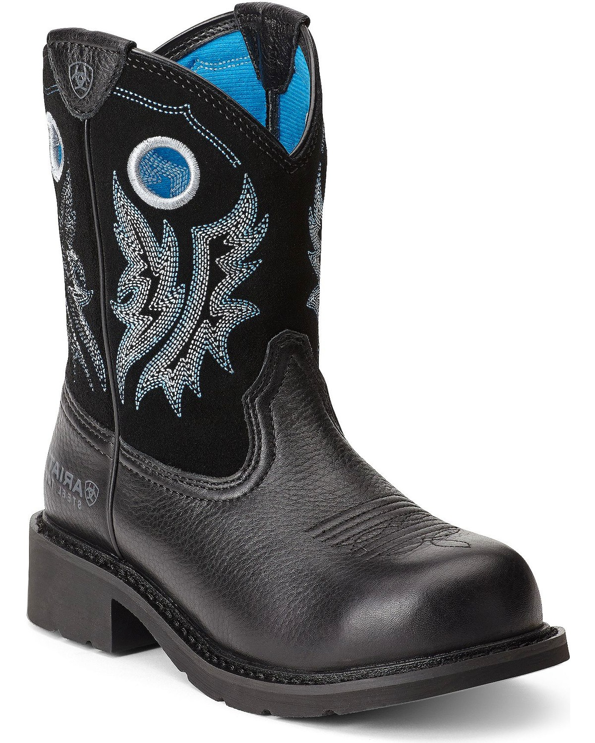 Ariat Women39s Fatbaby Cowgirl Steel Toe Western Boots
