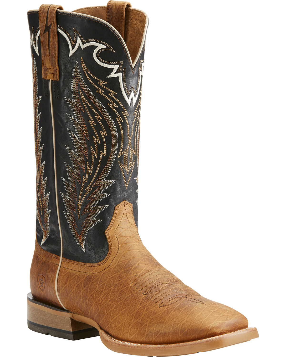 Ariat Men39s Top Hand Square Toe Western Boots Boot Barn