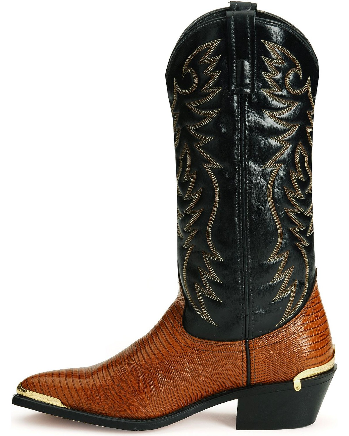 Laredo Men39s Atlanta Lizard Print Western Boots Boot Barn
