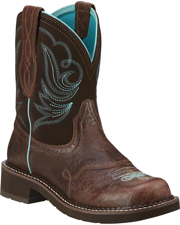 Ariat Women39s Fatbaby Heritage Dapper Western Boots Boot