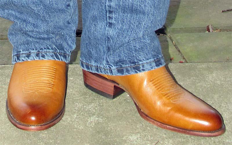 Tecovas Cartwright Desert Calf Cowboy Boots
