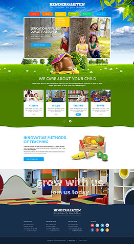 Children - bootstrap, Website Templates from wwwbootstrap-template