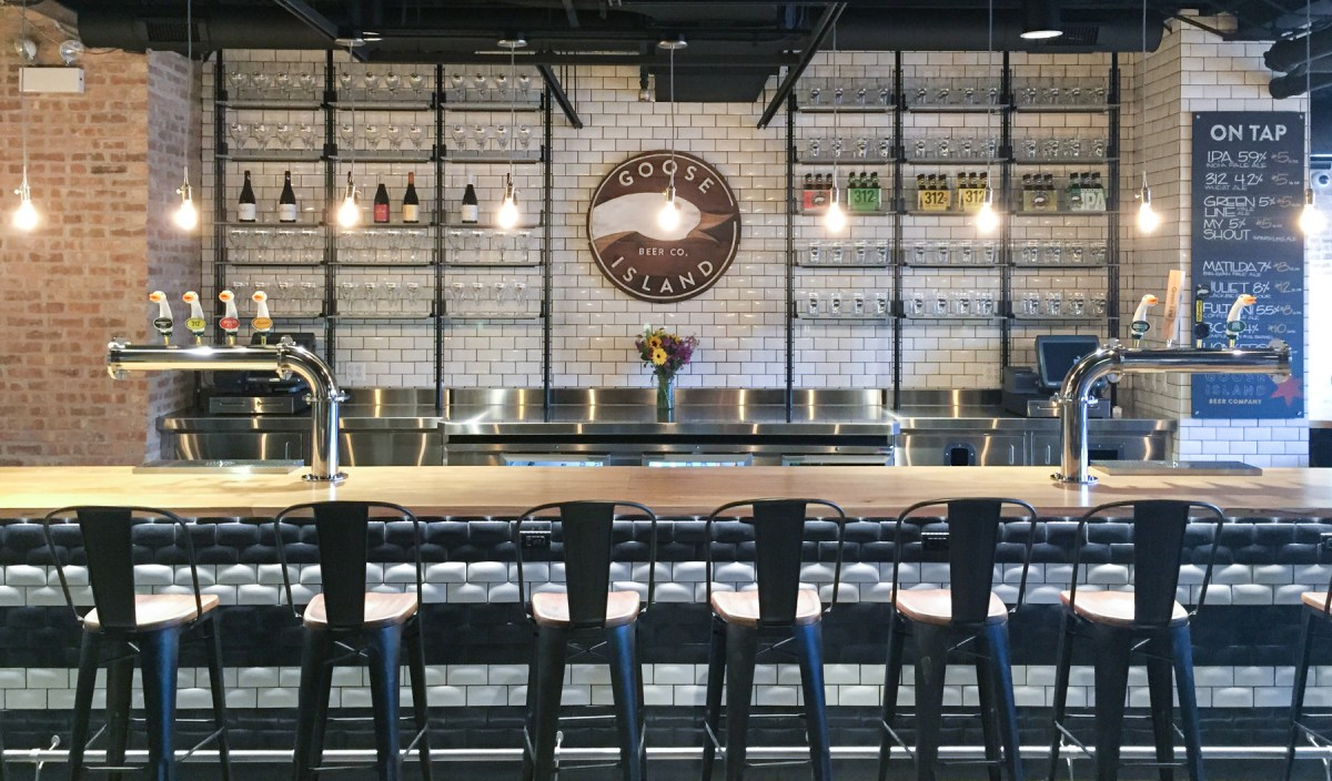 Goose Island Tasting Room and Tour are Things of Beauty