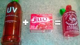 sriracha jello shot