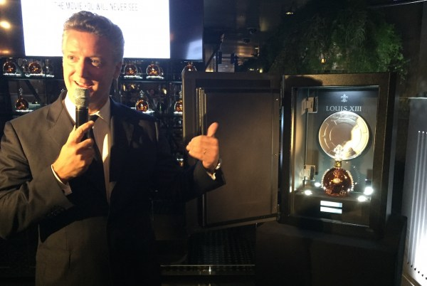 Vice President of Louis XIII Americas Yves de Launay - Colin Joliat