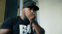 BlumGum Chugging Beer