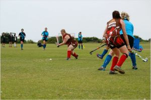 Ladies in action at the Masters Tournament held in June 2014