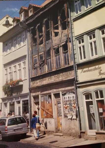 post war Erfurt, Germany