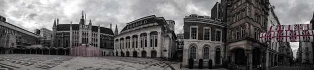 London Guildhall, Roman Ampitheatre, Criminal London