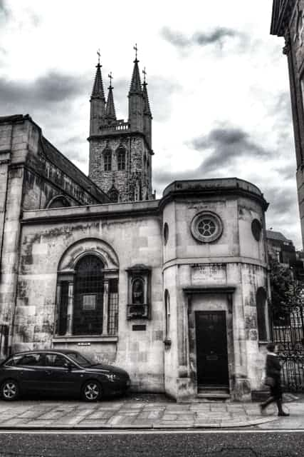 Church Watch Tower, bodysnatchers, Criminal London
