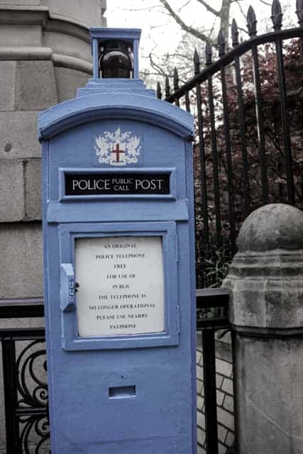 City of London Police Box, Criminal London