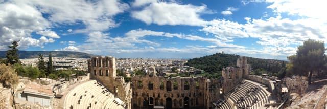 Ancient ruins of Athens