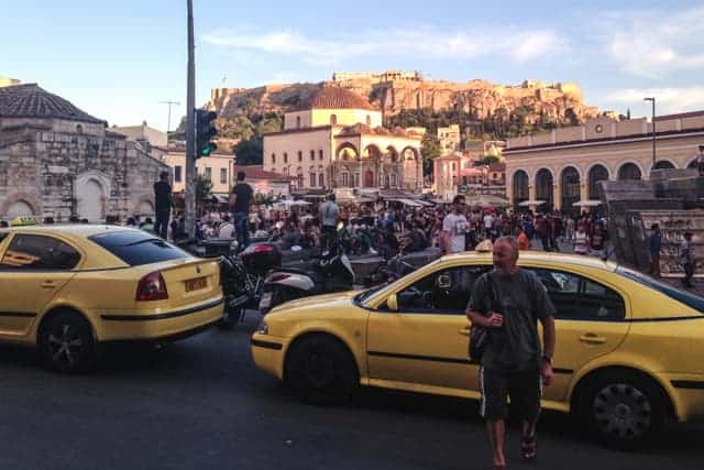 Athens modern city