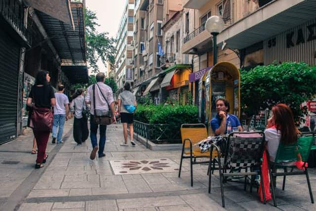 Local life in Athens