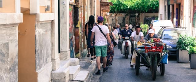 Greek people, local Athens