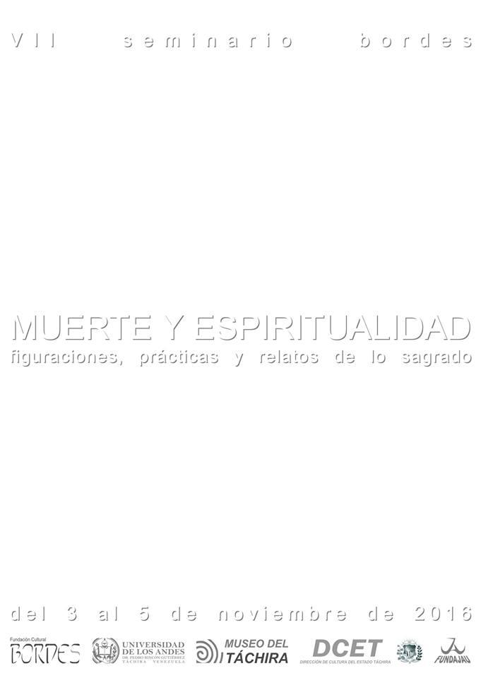 Programación Séptimo Seminario Bordes: Muerte y Espiritualidad