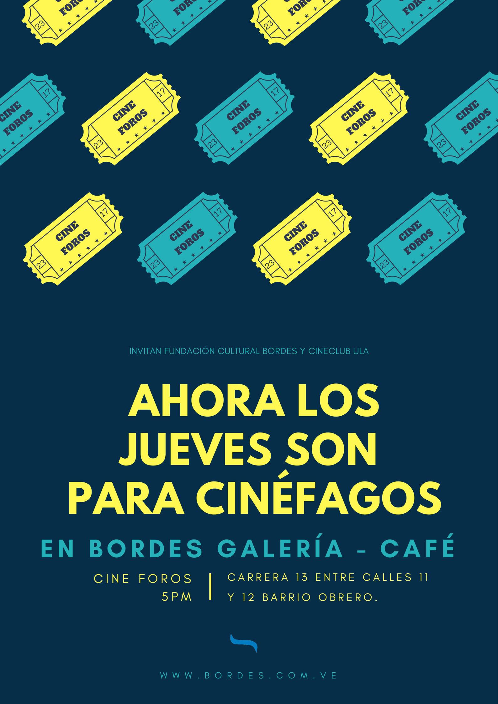 CineClub se reúne ahora los Jueves en Café Bordes