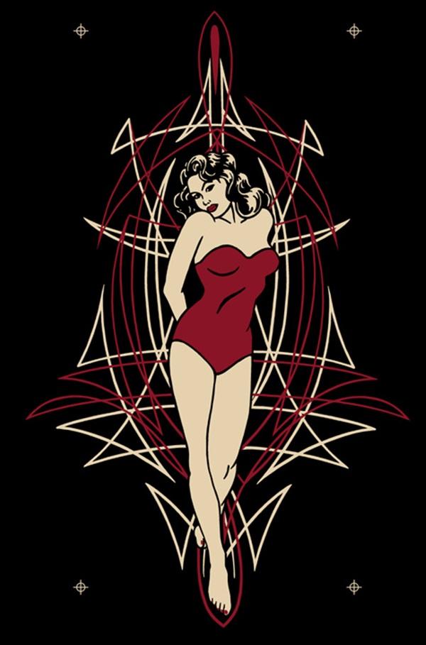 Hd Zombie Girl Wallpaper 40 Cool Pinstripe Art Ideas To Try In 2015