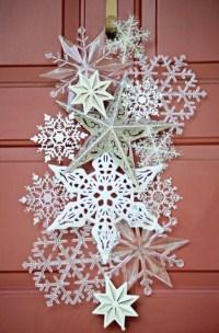 40 DIY Paper Snowflakes Decoration Ideas - Bored Art