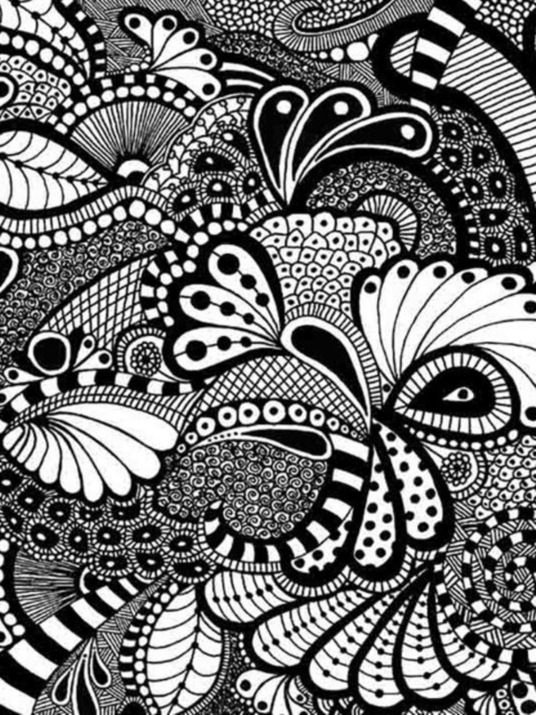 Iphone 5s Wallpaper 3d 40 More Zentangle Patterns To Practice With Bored Art