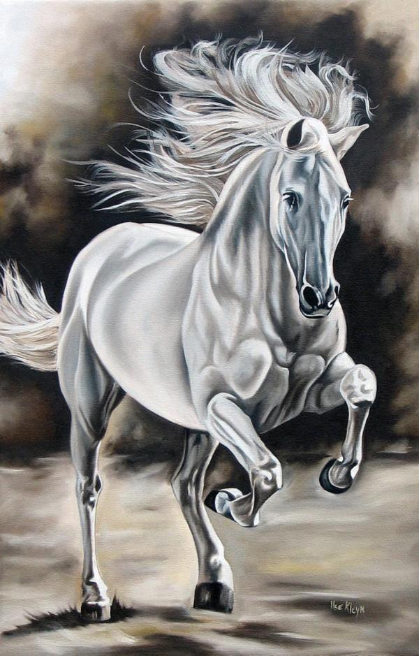 Lovely Cute Girl Wallpaper Striking Horse Paintings Like Never Seen