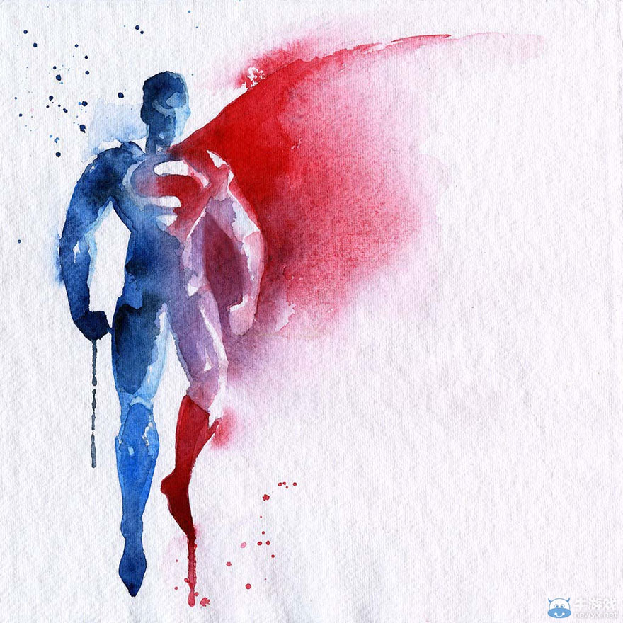 ilustraciones-superheroes-acuarelas-blule (8)