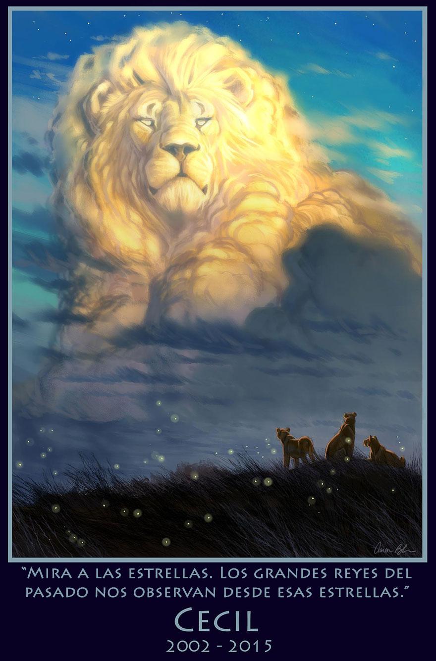 tributo-rey-leon-cecil-animador-disney-aaron-blaise-1